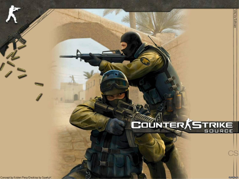 Автор Sniper OK. Сборка клиента Counter Strike Source v.59
